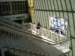 Marshal's visit to GBS in the summer of 2008.  Does anyone recall having the luxury of this much space on the stairs be