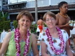 Gale Bowden and Ginny Ruck. Husbands stayed at home and we took a free trip to Hawaii (2008)