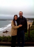 Leigh and Lisa Loomis at the beach this year in Corona Del Mar, CA (the OC!) where we met 25 years ago.