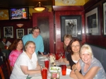 Our own reunion - Andee Rhodie, Robin Mays, Peggy (Sloan) Nyhoff, Val Randall, Linda DeGuide, Tarey (Jones) Bolton   6/0