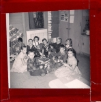 RUGEN SCHOOL - Miss Brown's 3rd Grade Class.   Plaid shirt clockwise - Jim Barnett, Kim (Smith?), Gary Carlstrand,